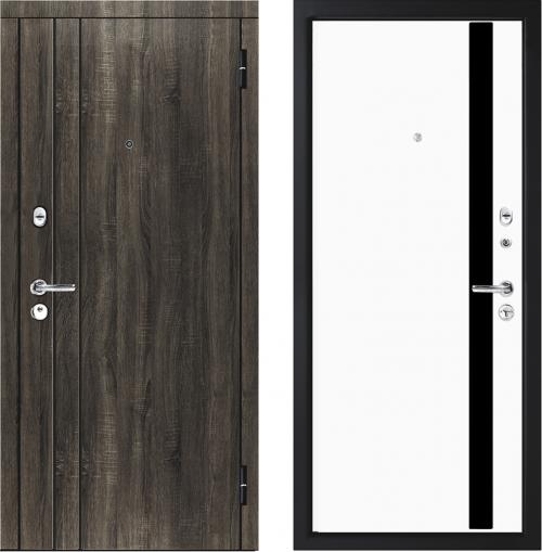Металлические двери M33/4 для квартиры от M-Lux.