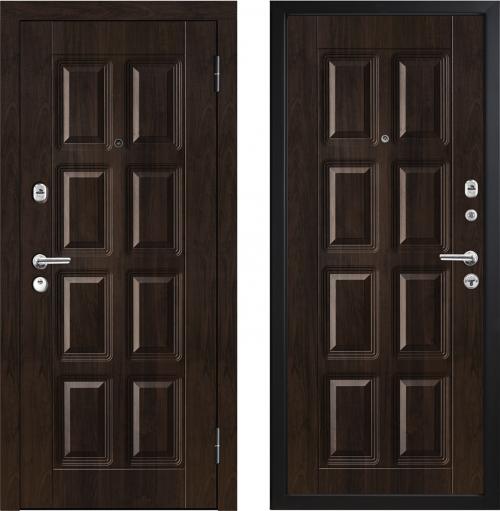 Наружные металлические двери для квартиры или дома M396/2