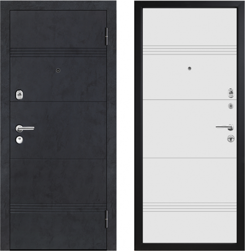 Metal doors for house and apartment M397