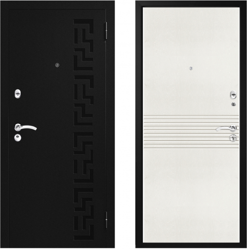 Metal doors М46 for house, cottage or apartment