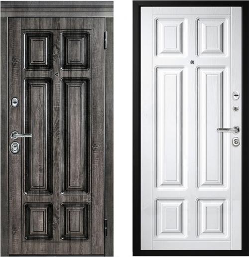 Металлические двери M706/3 с влагостойкой отделкой Vinorit