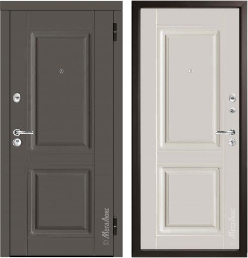 Metal door for apartment M434/10