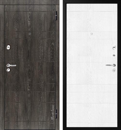 Metal doors M-Lux for the apartment M350/6