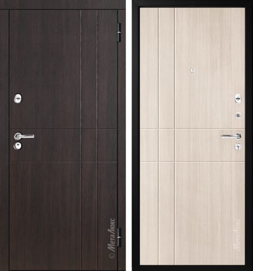 Metal doors M-Lux for the apartment M351/1