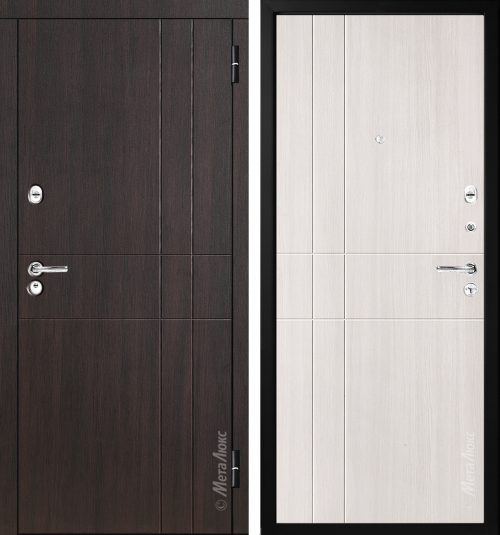 Metal doors M-Lux for the apartment M351/2