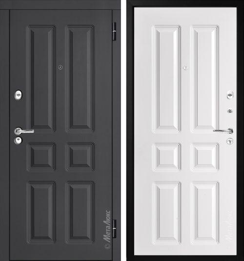 Metal door for apartment M354/1