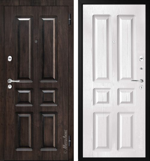 Metal door for apartment or house  M-Lux M381/3