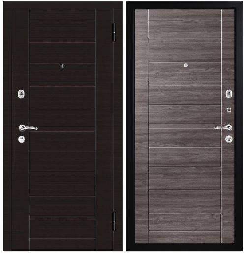 Metāla durvis dzīvoklim M302