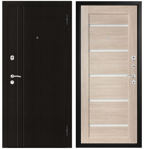 Metāla durvis dzīvoklim M304