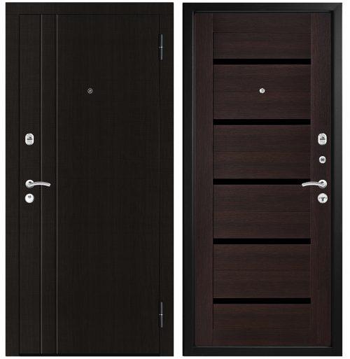 Metāla durvis dzīvoklim M306