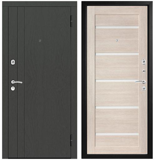 Metāla durvis dzīvoklim M318