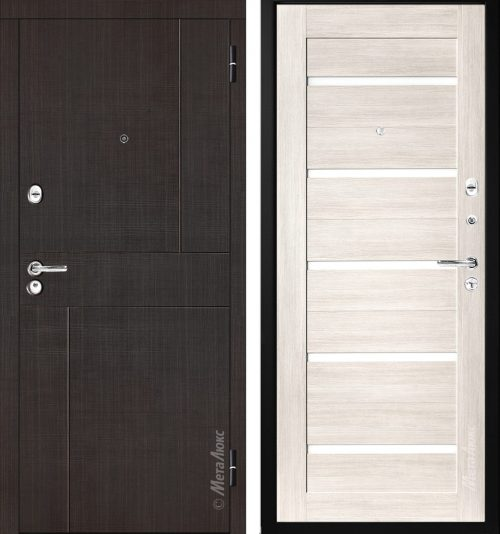 Metal doors M-Lux M332 for the apartment