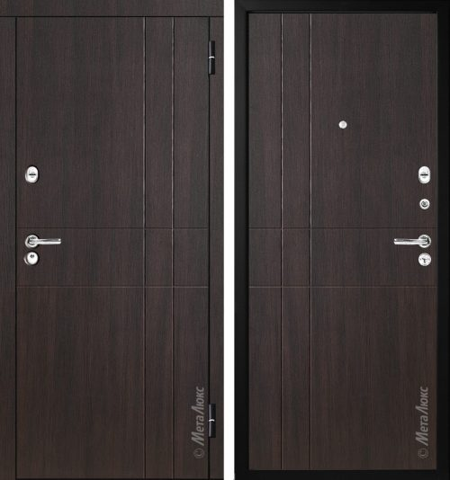 Metal doors M-Lux for the apartment M351