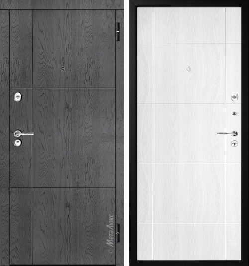 Metal door for apartment or house M352/1