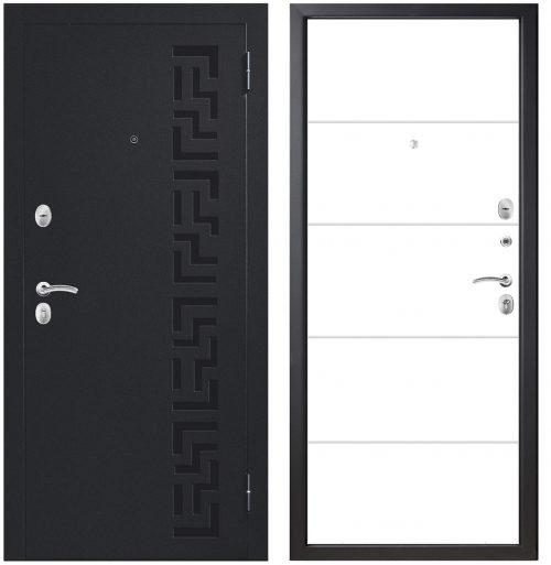 Metāla durvis dzīvoklim un privātmājai M402