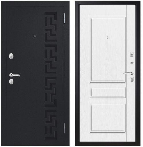 Metāla durvis dzīvoklim un privātmājai M403