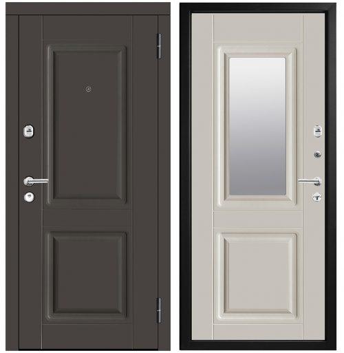 Metāla durvis ar mdf apdari un 3 blīvējumiem M434/10 Z