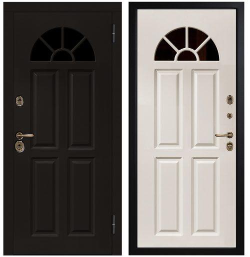 Metāla durvis ar stiklu CM368/1 E1