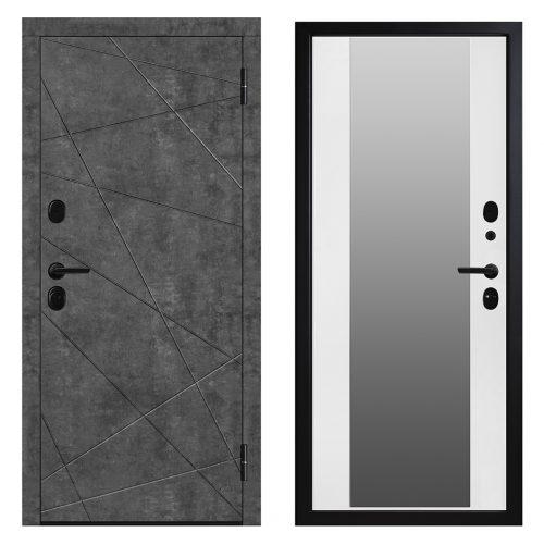 Metāla durvis dzīvoklim M602/2 Z