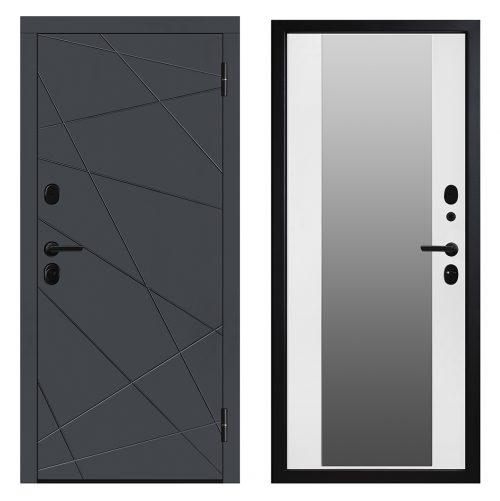 Metāla durvis dzīvoklim M602 Z