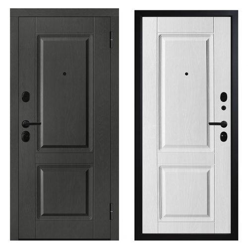 Metāla durvis dzīvoklim M612