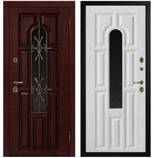 Entrance Metal Doors GrandWood for Apartment or house CM460/19