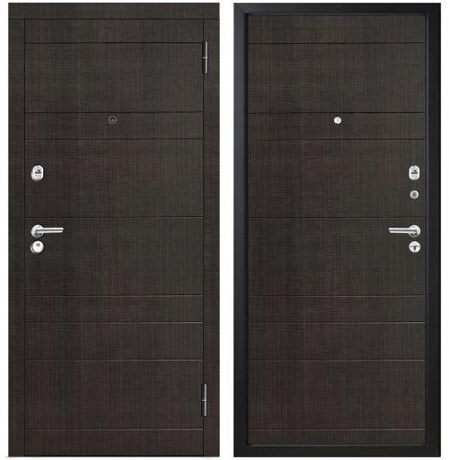 Metāla durvis dzīvokļim M350/1