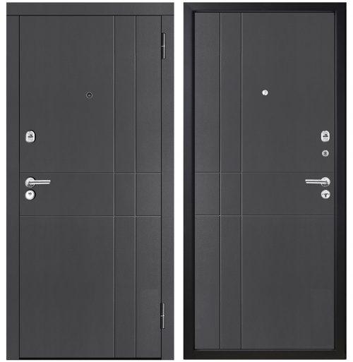 Metāla durvis dzīvoklim M351/3