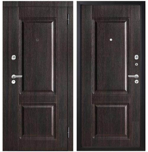 Metāla durvis dzīvoklim M353