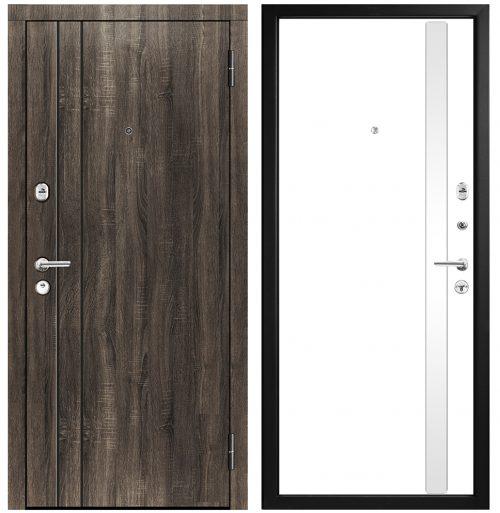 Metāla durvis dzīvoklim M433/6