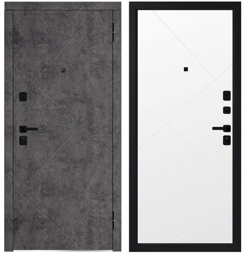 Metāla durvis dzīvoklim M746/13