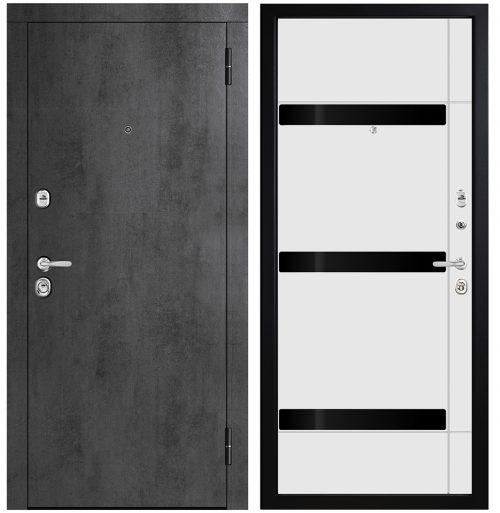 Metāla durvis dzīvoklim M771