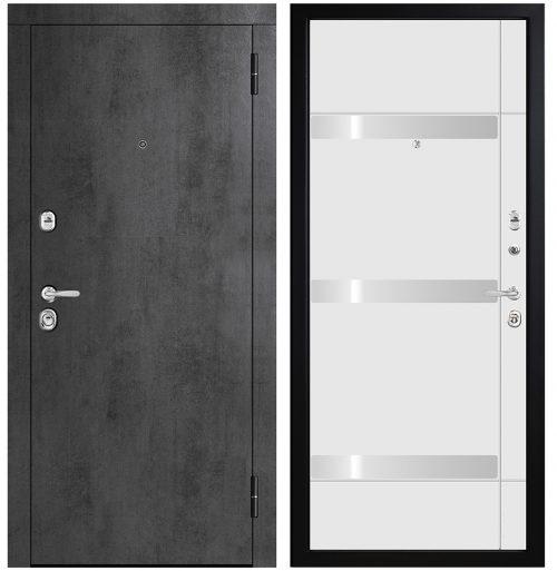 Metāla durvis dzīvoklim M771/1