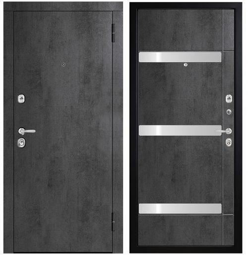 Metāla durvis dzīvoklim M771/3