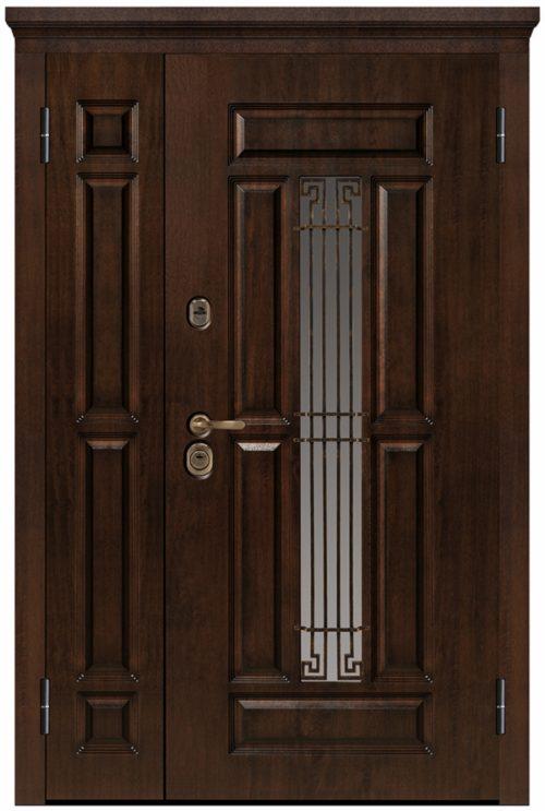 Nestandarta metāla durvis Nestandarta metāla durvis mājai
