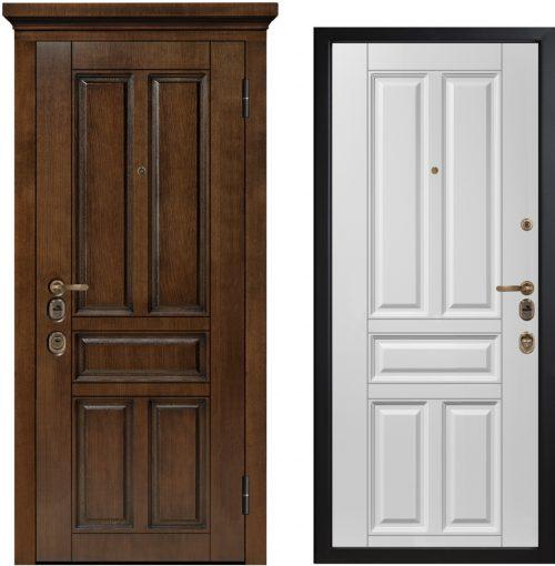 Metāla durvis ar ArtWood finiera paneli