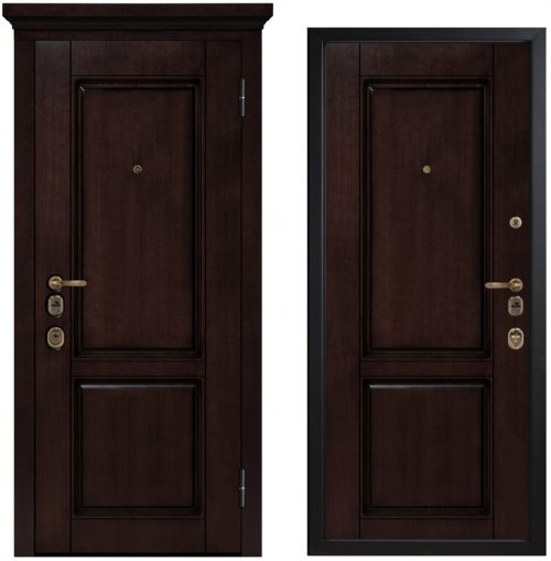 Metāla durvis dzīvoklim vai mājai M-Lux ArtWood M1706/8