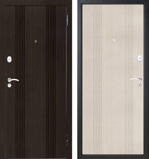 |Siltinātas metāla durvis dzīvoklim