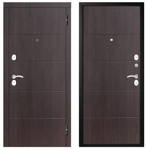 Metal door for apartment M315