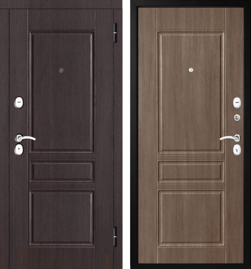  Metāla durvis ar drošām slēdzenēm
