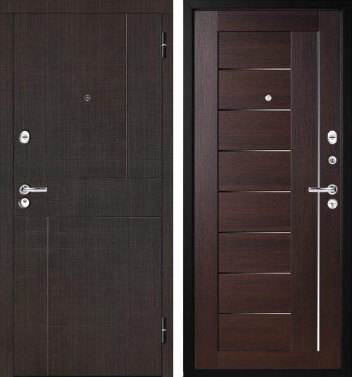 |metāla durvis ar mdf paneļiem|Metal doors with decor M330|Metāla durvis dzīvoklim ar mdf||