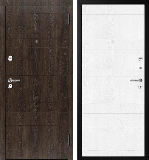  metāla durvis dzīvoklim par pievilcīgu cenu, tikai 347,00 Eur Quality metal doors M350/4 Metāla ārdurvis dzīvoklim ar mdf dekoratīviem paneļiem  