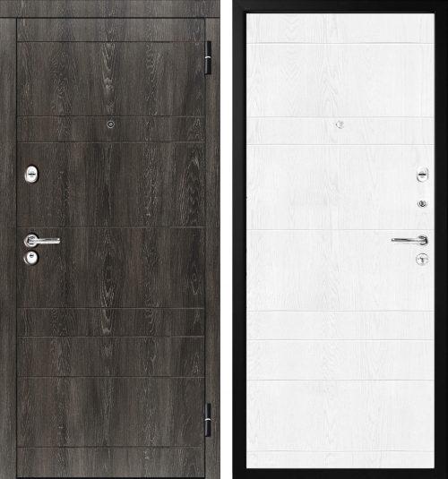 |Metal doors M-Lux for the apartment M350/6|Мetāla ārdurvis dzīvokļiem M-Lux M350/6||