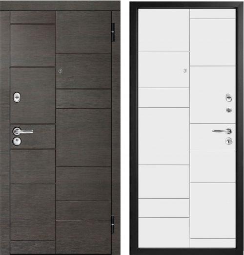 |Metāla durvis ar MDF|Metal door for apartment M491/3|Мetāla durvis dzīvoklim ar MDF||