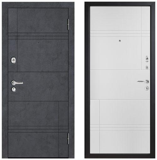 Metāla durvis dzīvoklim un mājai|Metal door for apartment and house with moisture resistant finish M498