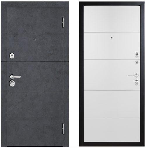 Metāla durvis no kolekcijas STATUS